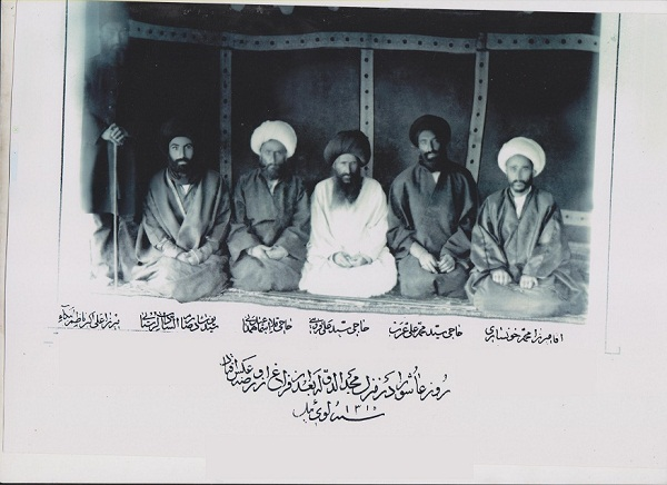 عکسی از سیدنوشاد دوم مربوط به دوره ی قاجار