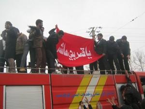 گزارش تصویری همایش مدافعان حرم حضرت زینب (س) و زیارت پرچم حرم حضرت ابوالفضل (ع) در کوهدشت