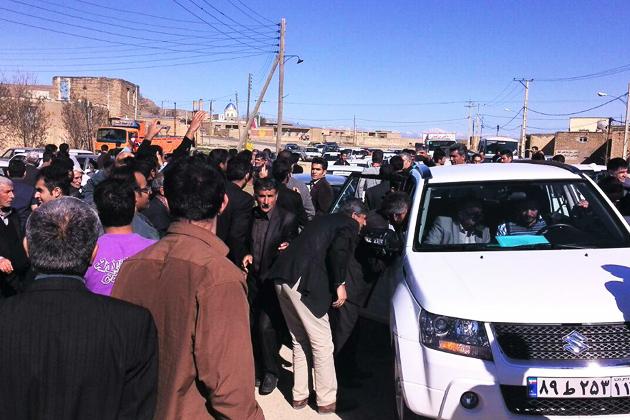 استقبال مردم و اهالی مناطق مختلف از دکتر محمدفهیم عباسي گراوند