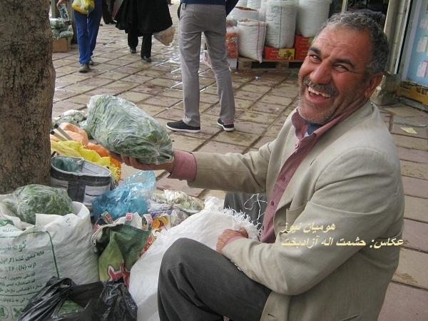 بوی گیاهان خوراکی درشهر پیچید؛از دوستی«پقازه»تالنگر انداختن«کنگر»