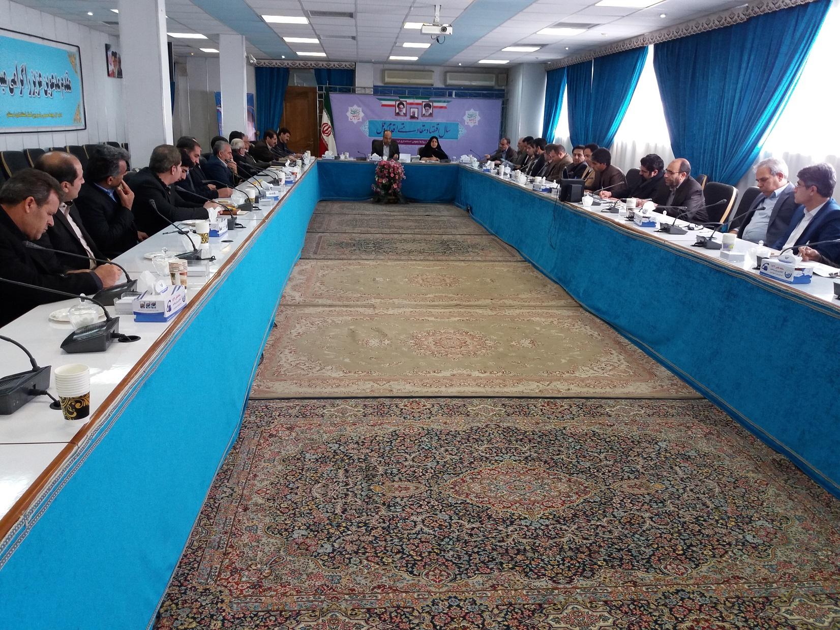 سرپرست معاونت سیاسی استانداری لرستان در گفتوگو با فعالان حزبی: خانه احزاب در لرستان تشکیل میشود