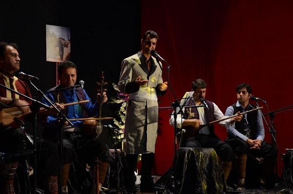 درخشش خواننده ی کوهدشتی در کنسرت موسیقی نواحی ایران در ساری