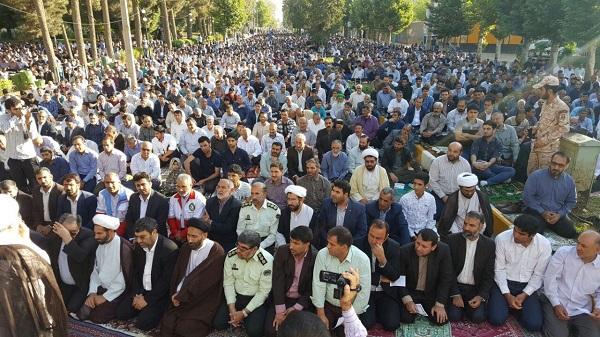 گزارش تصویری مراسم عید فطر در کوهدشت
