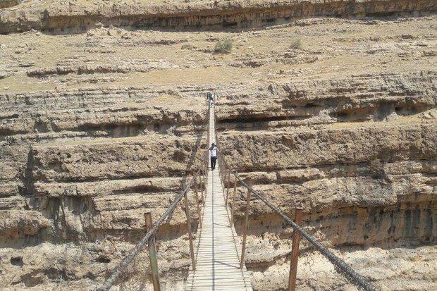 پرسه مرگ بر بلندترین پل معلق خاورمیانه/ «دره خزینه» ایمن شود