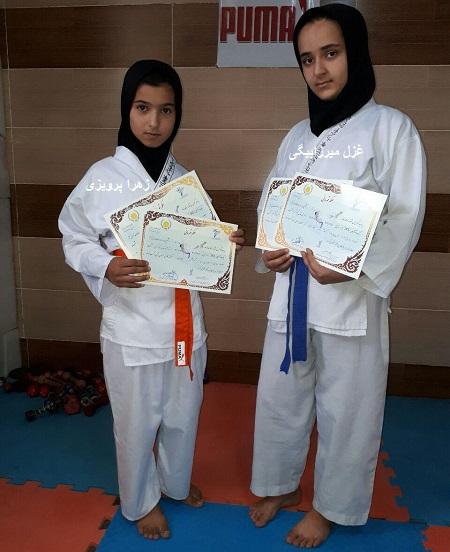 چهارمدال مسابقات کاراته ی کشور، سهم هفت چشمه ی کاکاوند