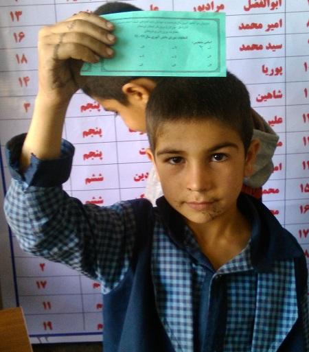 گزارش تصویری انتخابات شورای دانش آموزی در کوهدشت