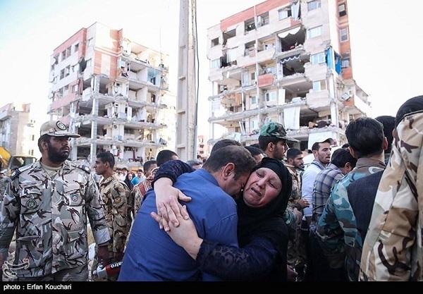 تصاویری از مناطق زلزله زده ی استان کرمانشاه