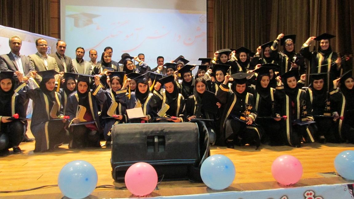 جشن دانش آموختگی سومین دوره دانشجویان مرکز آموزش عالی کوهدشت با حضور معاون دانشجویی دانشگاه لرستان